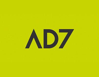 AD7 | logo e id visual