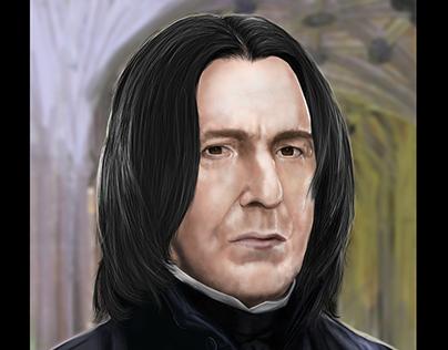 Alan Rickman as Prof Severus Snape