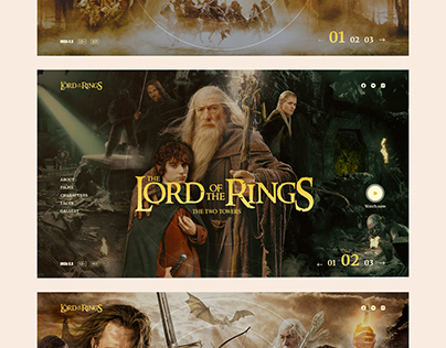Design Concept - The Lord of the Rings