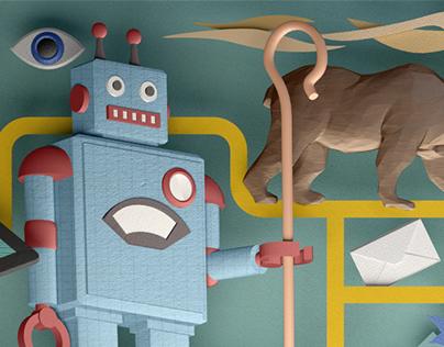 Cyber Slang Illustration 01