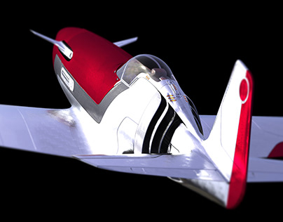 F-51 Mustang Concpet Airplane