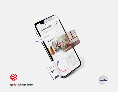 Panasonic Miraie - App Design