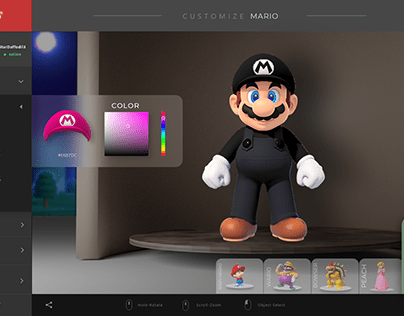 Mario Dashboard UI