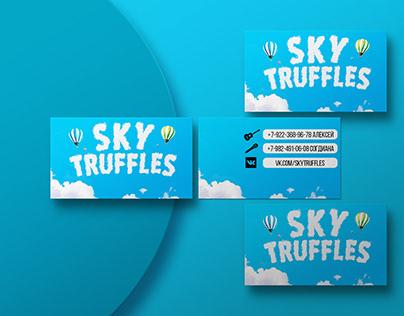 Визитка для Sky Truffles