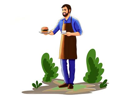 cheff Character Art