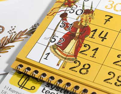 Calendar 2016 for System Technologies
