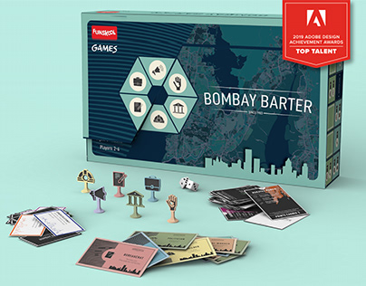 Bombay Barter- A Board Game (Design & Packaging)