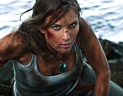 Filthy Tomb Raider Cosplay
