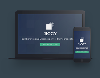 Jiggy - Webdesign & Visual Identity