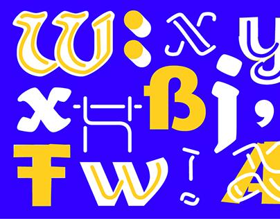 Pischinger Typeface