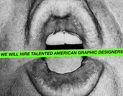 American Graphic Designers, we need you.