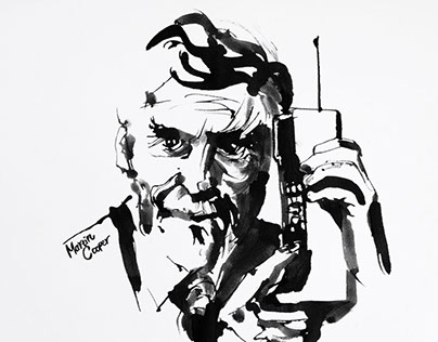 Portrait Ink Illustrations