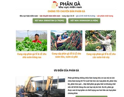 Hoàn thành website PHÂN GÀ CHÂU