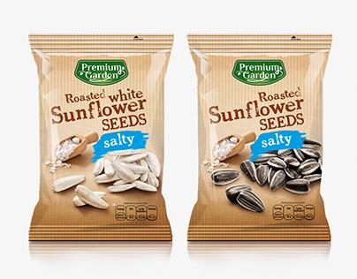 Premium Garden sunflower seeds
