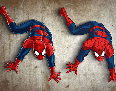 Marvel character art