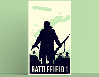 Battlefield 1 Poster