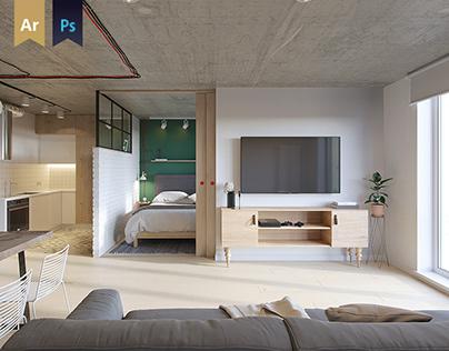 Apartment in Penza | Russia | 51.77 m2