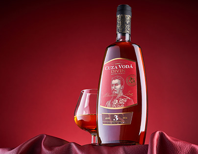 Brandy Label Redesign - Cuza Voda
