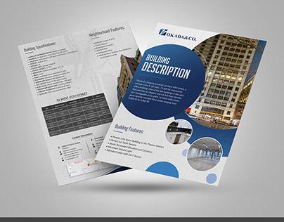 Real Estate Flyer Design Project