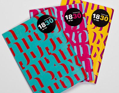 """""""1830"""" unisex magazine"""