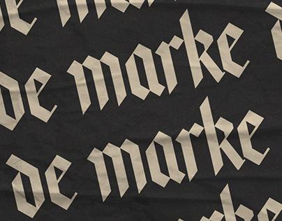 De Marke Sports rebranding project