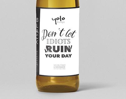 Drink Label Design