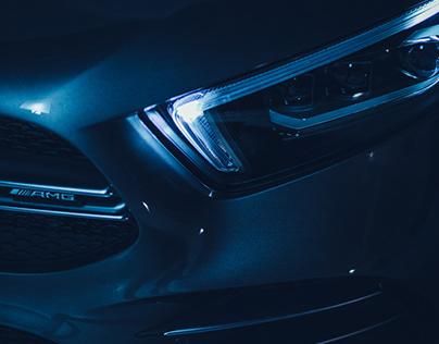 behind the scenes Mercedes-AMG A-Klasse