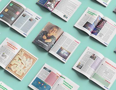 Diseño editorial - Magazine sobre e-sports