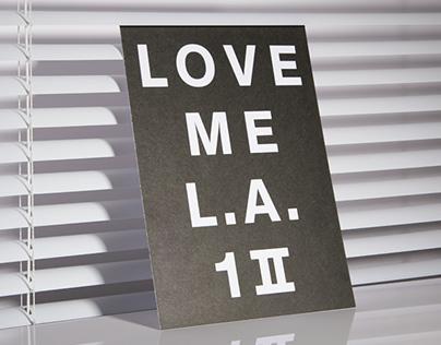 LOVE ME LOS ANGELES
