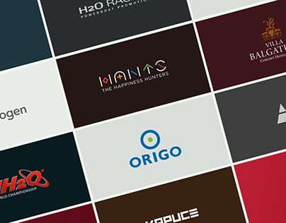 Collection of logotypes and wordmarks