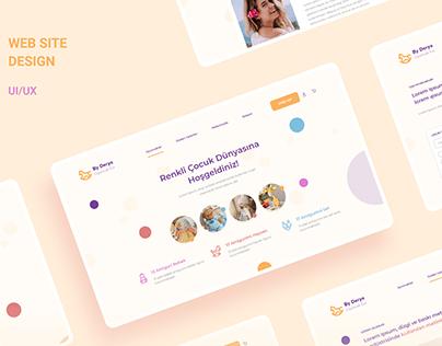 Web Site Design-UI/UX