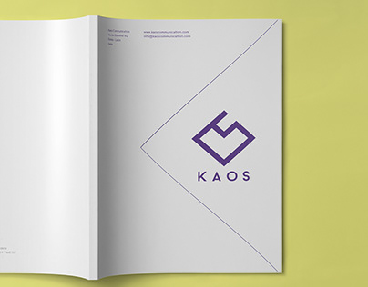 Brochure Kaos Communication