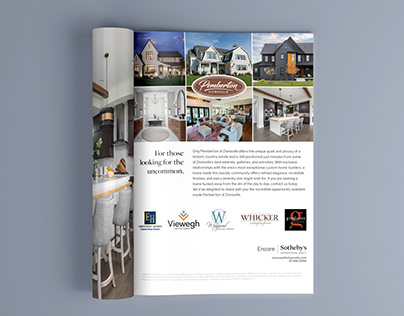 Pemberton of Zionsville + Encore SIR Full Page Ad