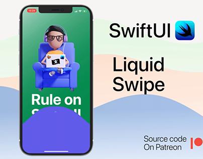 Liquid swipe in swiftui