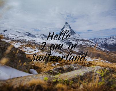 Hello I am in Switzerland