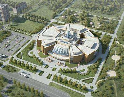 Проект Республиканского музея в г. Абакан