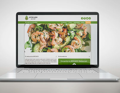MockUp Avocado Restaurant