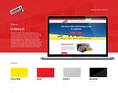 U-Store-It Website Design