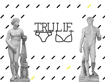 Logo & Identity for online underwear shop TruLif.