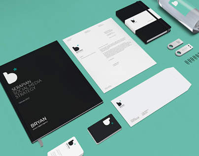 Brand identity for a digital agency