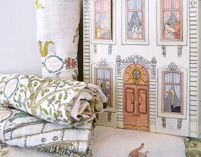 Atelier Choux, baby blankets