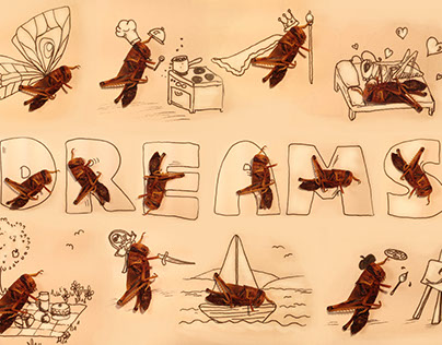 Creepy Crawlies: Lucas Locust Dreams Mar 16