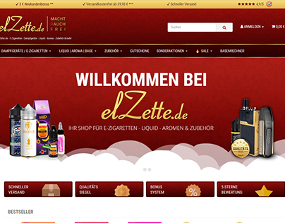 JTL Shop Template - elzette.de