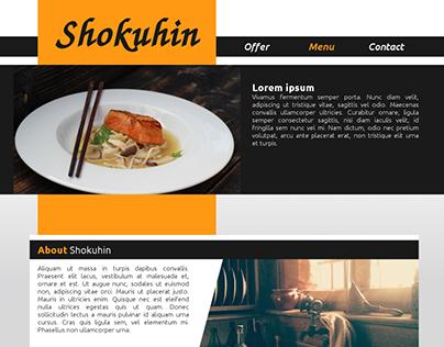 Shokuhin - website