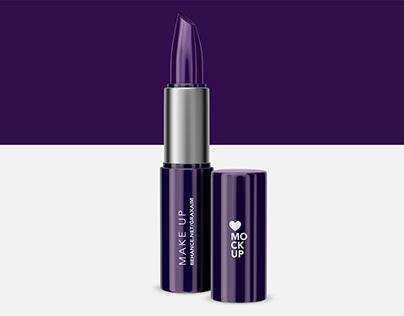 Cosmetics Lipstick Mockup - Make up