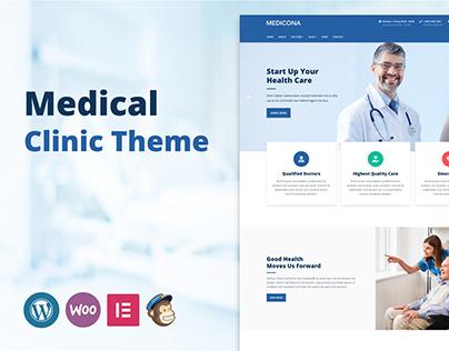 Medicona - WordPress Medical Clinic Theme