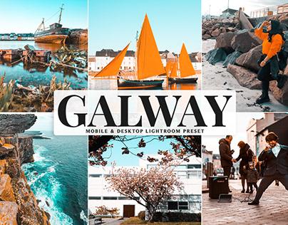 Free Galway Mobile & Desktop Lightroom Preset