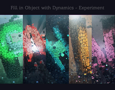 Fill In Object with Dynamics - Experiment