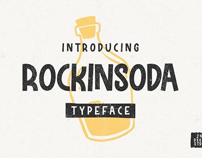 Free - Rockinsoda Typeface