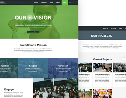 Foundation Website: Sneek Peek